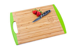bamboo cutting board with silicone edges u2013 the kitchen love