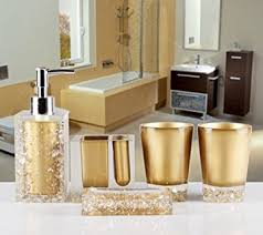 Acrylic Bathroom Accessories by Amazon Com Amss 5 Piece Stunning Bathroom Accessories Set In