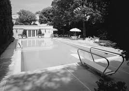 Outdoor Swimming Pool by Swimming Pool White House Museum