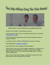 Top Seller On Amazon Millions Dollar Trick By Profit Phoenix And Ridwan Mahmood By