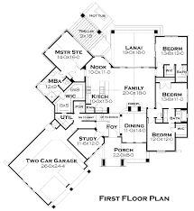 House Plans For Two Families Cottage Plan 2 482 Square Feet 4 Bedrooms 3 5 Bathrooms 9401
