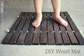diy wood stake door mat remodelaholic bloglovin u0027