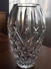 Vintage Waterford Crystal Signed 8 Inch Flower Vase In Waterford Crystal Araglin Ebay