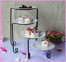 4 tier cake stand 4 tier iron metal cake cupcake dessert fruit stand food