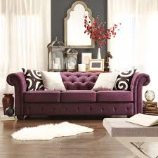 Discount Chesterfield Sofa Tribecca Home Knightsbridge Linen Tufted Scroll Arm Chesterfield