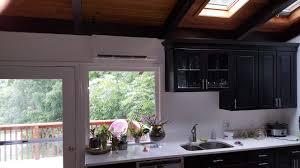 mitsubishi ductless ceiling mount a white mitsubishi
