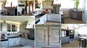 relooking d une cuisine rustique relooking d une cuisine rustique cuisine jouy le moutiers apres