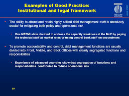middle management examples 1 guidelines for public debt management examples of sound