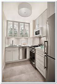 White Kitchen Cabinets With Tile Floor Appliances Small Kitchen Window With Wooden Flooring Also Glass