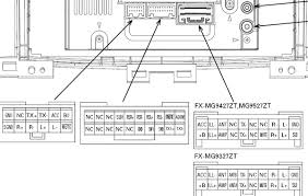 fujitsu ten car stereo isuzu wiring diagram wiring diagram and