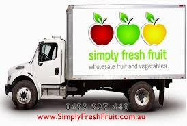 fruit for delivery simply fresh fruit delivery truck www simplyfreshfruit au