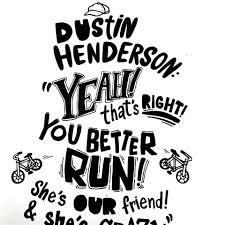 quote drawings stranger things quote dustin henderson