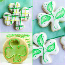 Shamrock Decorations Home Shamrock Sugar Cookies Art And The Kitchen