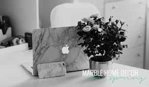 marble home decor for spring lily like