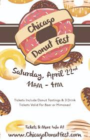 Chicago Water Taxi Map by Chicago Donut Fest Donut Tasting Tickets Sat Apr 22 2017 At