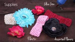 baby headband diy diy baby headband tutorial saucy
