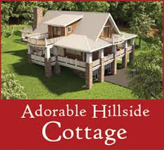 hillside floor plans home plans the cottage floor plans home designs commercial