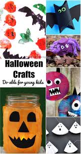 do able halloween crafts for toddlers and preschoolers