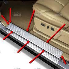 Exterior Door Threshold Replacement by Silverado Sill Plate Car U0026 Truck Parts Ebay