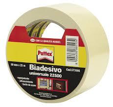 pattex 715151 22500 biadesivo universale 50 mm x 25 m amazon it