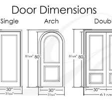 Standard Door Width Interior Standard Door Measurements Interior Image Collections Doors Door