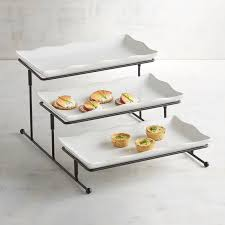 3 tiered rectangle server pier 1 imports