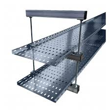 Cable Tray Under Desk 450mm Cable Tray Ladder Double Tier Trapeze Support Bracket