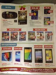 black friday sales gamestop video gamer u0027s tribune gamestop 2013 black friday deals leaked