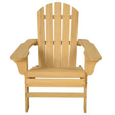 outdoor natural fir wood adirondack chair sunloungers outdoor