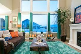 turquoise curtains for living room turquoise and brown living room
