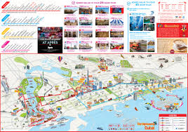 Emirates Route Map by City Sightseeing Dubai Hop On Hop Off Bus Tours