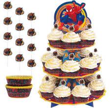 Spiderman Cake Supplies Spiderman Cupcake U0026 Cookie Ideas Party