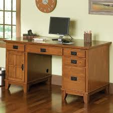 Mission Style Computer Desk With Hutch by Riverside Craftsman Home Corner Desk Hayneedle