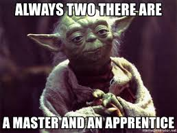 Meme Generator With Two Images - always two there are a master and an apprentice yoda meme generator