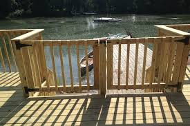 double wood deck gate mchenry county rock solid builders inc