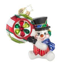 193 best christopher radko snowman ornaments images on