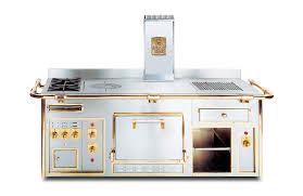 gaz electrique cuisine cuisinière électrique à bois à gaz mixte the molteni range