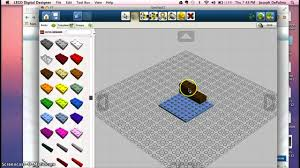 lego digital designer basic tutorial youtube