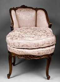 Antique Chaise Lounge Louis Xv 19th C French Chaise Lounge Or Chaise Longue From Piatik