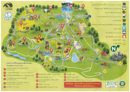 National Zoo Map Songkhla Maps