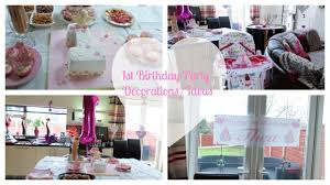 baby girl 1st birthday ideas baby 1st birthday party prep decorations ideas