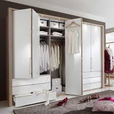 Schlafzimmerschrank Mit Aufbauservice Schlafzimmer Kleiderschrank Bosays Mit Falttüren Wohnen De