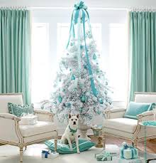Pale Blue Christmas Tree Decorations by The Colors Of Christmas U2013 Cumby U0027s Interiors
