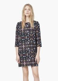 mango robes robe droite imprimée robes pour femme mango la wish list 3