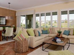 Living Room With Furniture Island Inspired Living And Dining Room Kerrie Kelly Hgtv