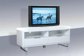 accent tv unit white lpd furniture