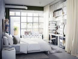 traditional master bedroom with flush light hardwood floors in