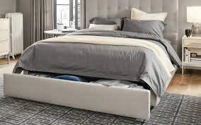 Grey Striped Rug Storage Solution For Small Bedroom Gray Striped White Frilled Rug