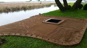 fire pit sand ring of fire building a bonfire pit leah and joe home diy