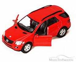 cars mercedes red mercedes benz ml class suv red kinsmart 5309dd 5